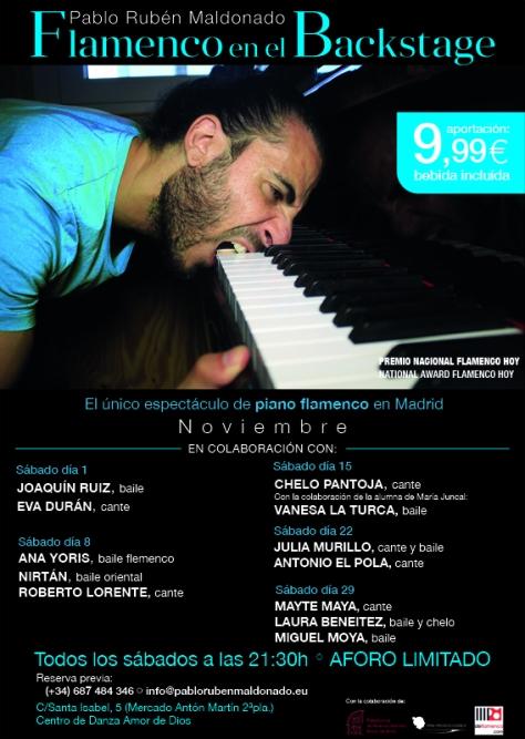 Flamenco en Madrid en Noviembre