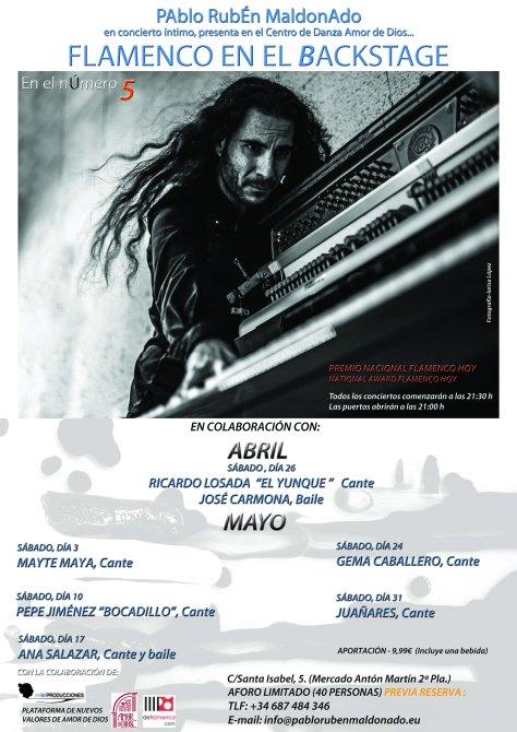 Pablo Rubén Maldonado, flamenco pianist
