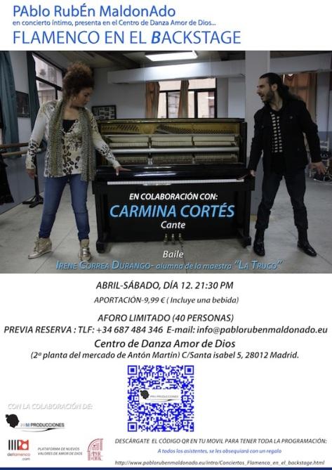 FEEB. Pablo Rubén maldonado, Carmina Cortés
