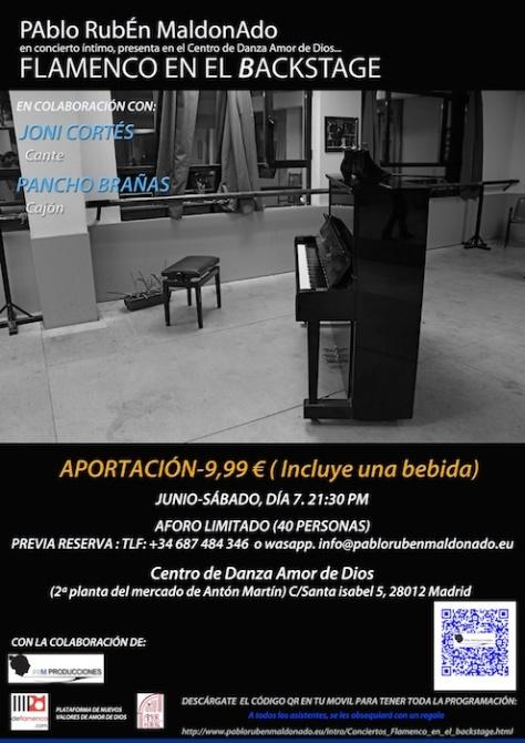 FEEB. Pablo Rubén maldonado, Joni & Pancho, promo