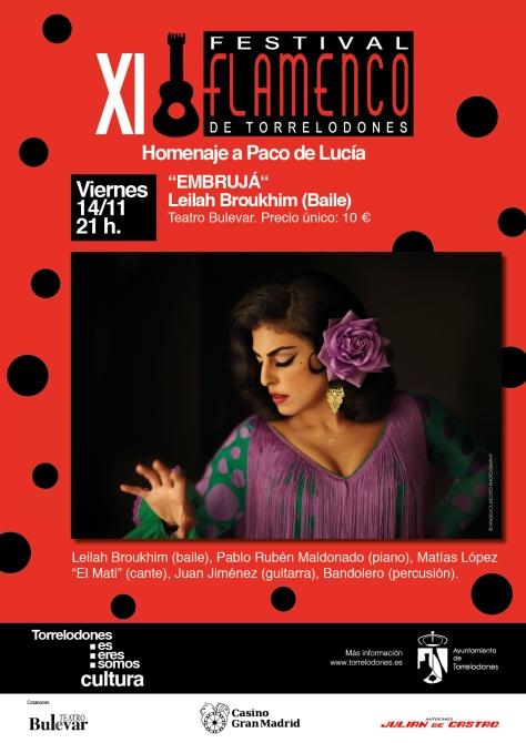 Flamenco en Madrid, día 14 de Noviembre