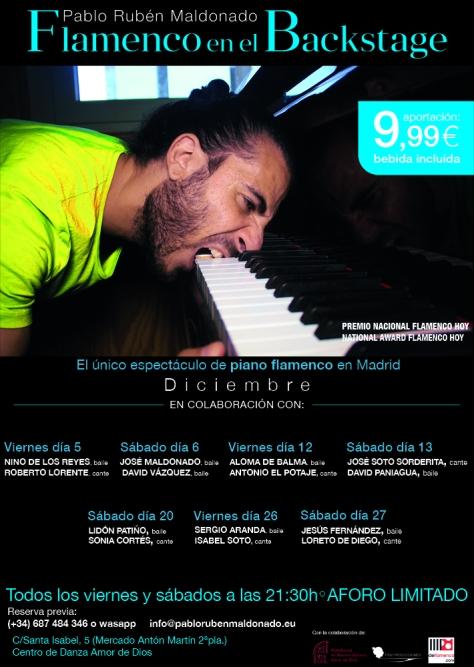 Flamenco en Madrid en Diciembre