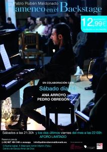 El mejor flamenco en Madrid con Ana Arroyo, Pedro Obregón
